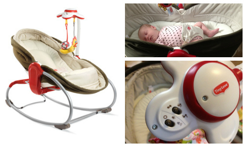 GIVEAWAY: TinyLove 3-in-1 Rocker Napper